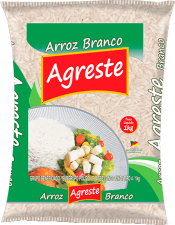 Imagem do Pacote de 5kg do Arroz Branco da marca Agreste