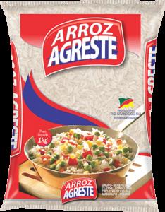 Imagem do Pacote de 5kg do Arroz Parboilizado da marca Agreste