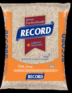 Imagem do Pacote de 1kg do Arroz Parboilizado da marca Record