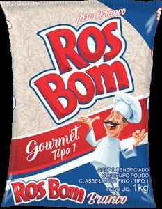 Imagem do Pacote de 5kg do Arroz Branco da marca RosBom