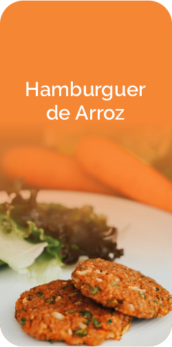 HAMBURGUER DE ARROZ